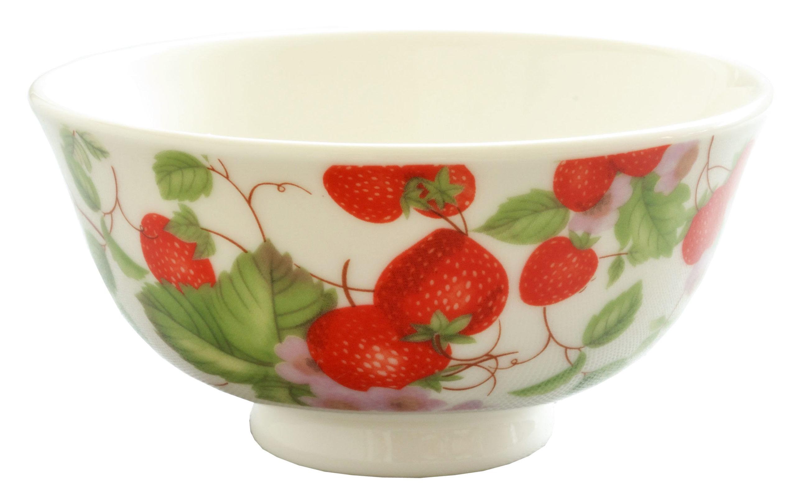 【ロイヤルアーデン】 お茶碗 ストロベリー <br>No.37512
