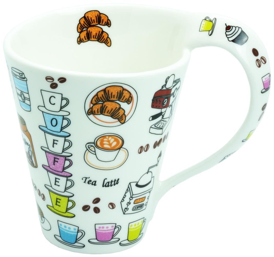 【ロイヤルアーデン】 スパイラルマグカップ <br>No.37594
