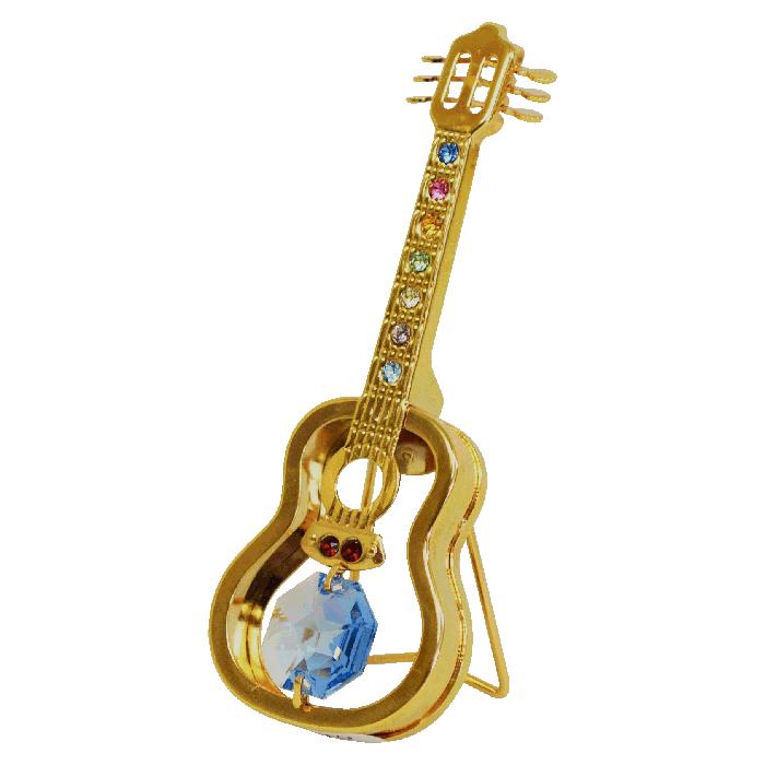 スワロフスキークリスタルオーナメント ギター <br>No.01643