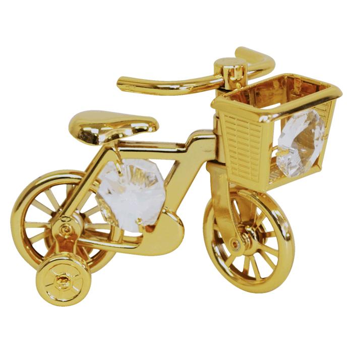 スワロフスキークリスタルオーナメント 自転車 <br>No.01649