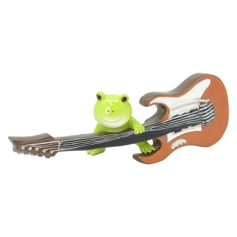 カエル楽団 オーナメント ギター <br>No.64409