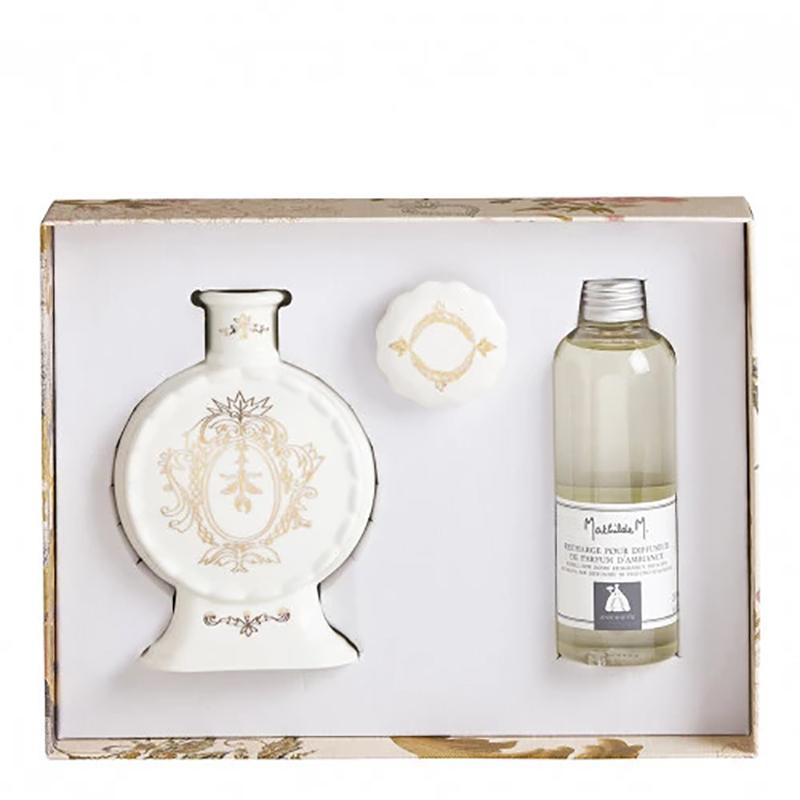 【Mathilde M】 ディフューザーギフトセット 香り:アントワネット  <br>No.880316