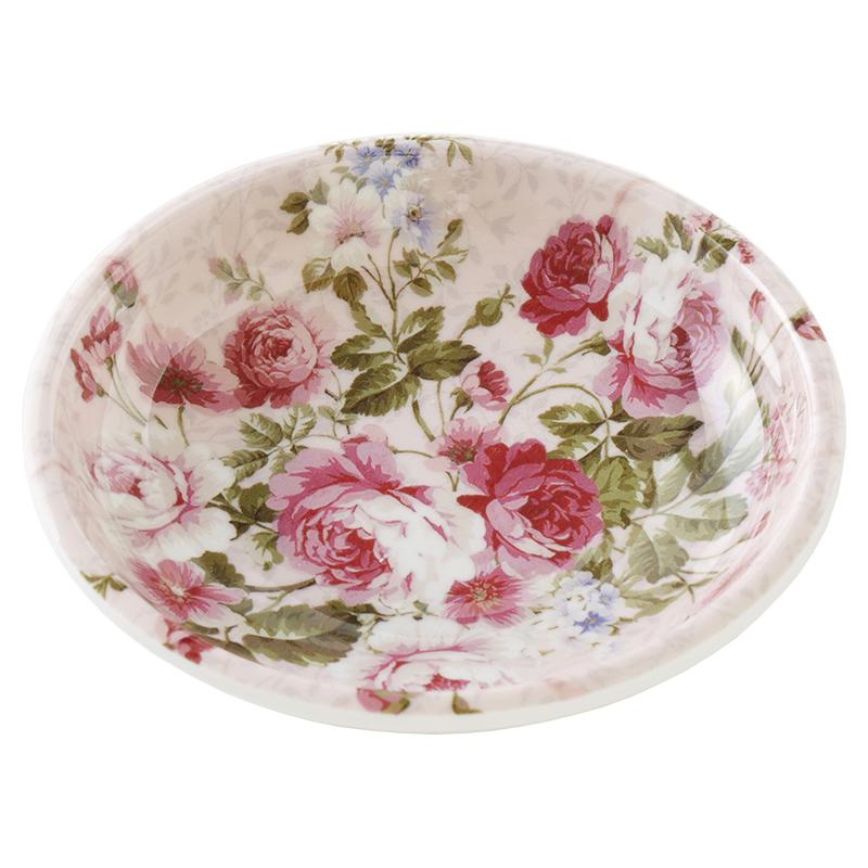 メラミンキッチン 小皿 サンローズ <br>No.57666