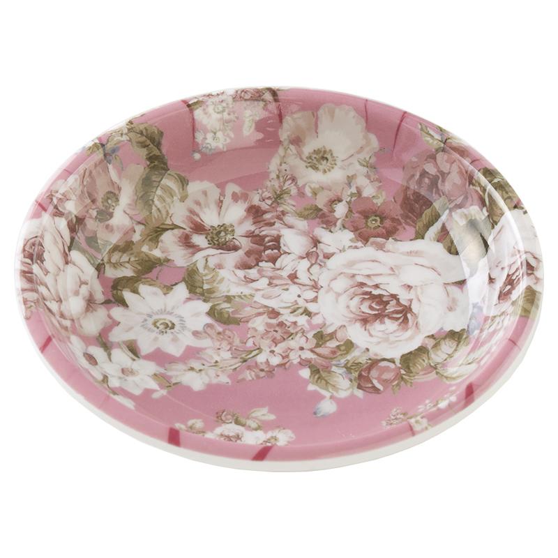 メラミンキッチン 小皿 ドルチェローズ <br>No.57668
